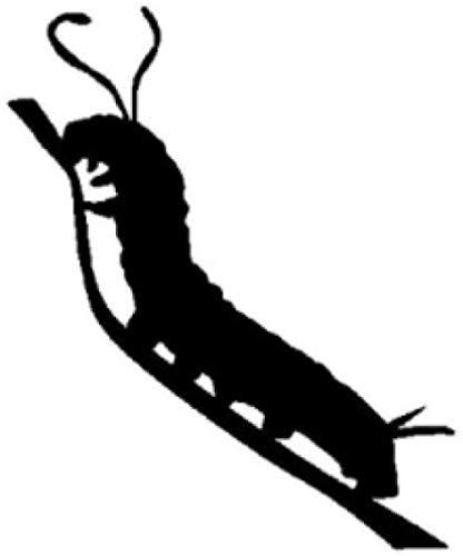 WYG Auto-Aufkleber, 2 Stück, Insekten-Interessant Good Car Body Showcase Kühlschrank Stoßstange Decals Fashion Auto Aufkleber Vinyl Auto Aufkleber 12 cm x 14,6 cm