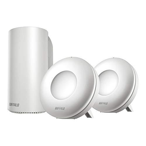 【Amazon.co.jp限定】BUFFALO WiFi 無線LAN AirStation connect 親機+専用中継機2台セットモデル WRM-D2133...