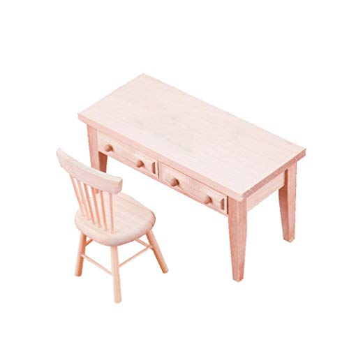 EXCEART Muebles de Casa de Muñecas de Madera Casa de Muñecas Mini...