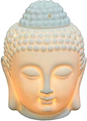 QOHG Cerámica Incienso Quemador de Vela para Quemador de Incienso Quemador de Aceite Esencial Quemador aromaterapia lámpara Sala de Estar Aroma difusor decoración del hogar