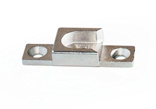 Siegenia Schliessblech A0440 Ar.Nr.287880 lock plate type 440 also 0440 also A0440 silver galvanized