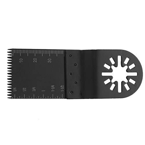 Weikeya Hoja de sierra recta estándar multiherramienta oscilante de 35 mm de acero al carbono.