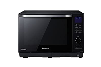 Panasonic 4in1 Steam NN-DS596BBPQ 27 Litre Combination Microwave Oven - Black by Panasonic