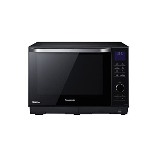 Panasonic NN-DS596BBPQ 4-in-1 Steam combination Flatbed Oven, 1000 W, 27 Litre, Black