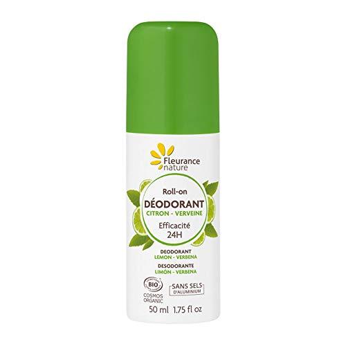 Fleurance Nature Desodorante Limon-Verbena Roll-On 50Ml. 1 Unidad 200 g