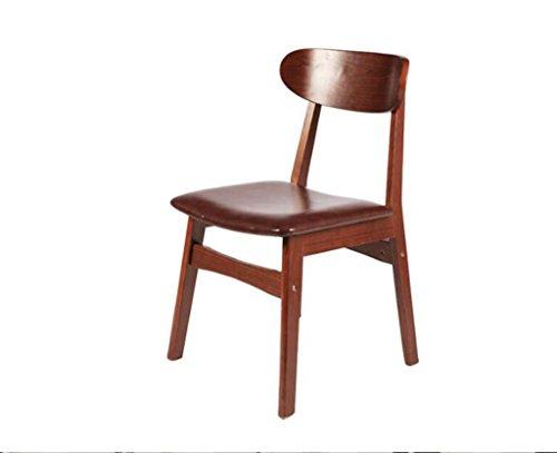 Tabouret en bois Salle à manger chaises chaises en bois massif table à manger simple chaises chaises en bois massif en bois (Couleur : #3)