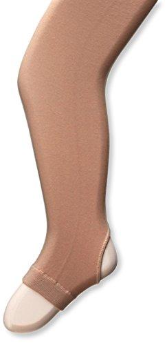 Capezio Girl's Stirrup Durable Tight Pants Light Suntan M