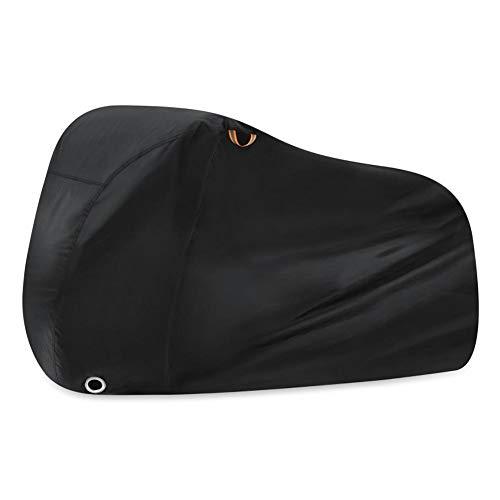 Funda impermeable para bicicleta Oxford 210D, con doble costura, costuras selladas, protección contra la lluvia UV, polvo de nieve, para bicicleta eléctrica de montaña, 200 x 110 x 70 cm