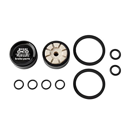 DANLINI Freno de disco de bicicleta de carretera MTB repuesto piezas de freno hidráulico pistón para Shi-Mano Xt / M785 / M8000 / M8100, negro