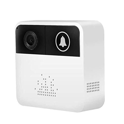 CXXDD Vídeo Timbre, Timbre Inteligente, la cámara de Alta definición Wi-Fi Seguridad, Temporizador de Despertador, aplicación de Control Remoto