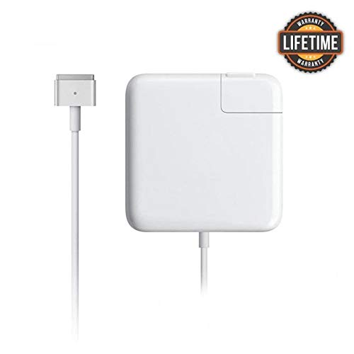 MacBook Air Charger,Replacement 45w Magsafe 2 T-Tip Power Adapter Charger Compatible with Mac Book Air 11-inch and 13 inch After Mid 2012