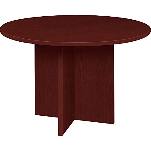 Lorell Prominence 2.0 Conference Table, Mahogany Surface