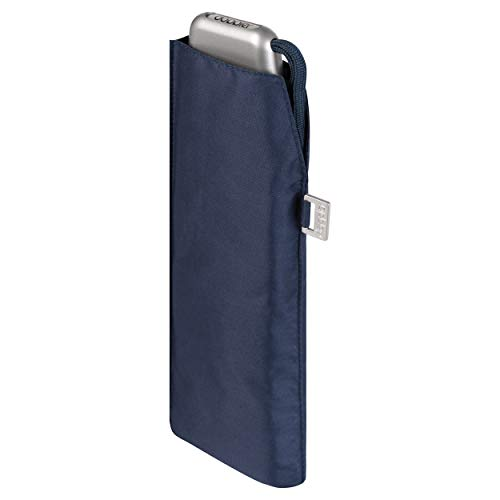 Doppler Ombrello tascabile Carbonsteel Slim Uni - Pratico - Leggero come una piuma - 22 cm - Navy