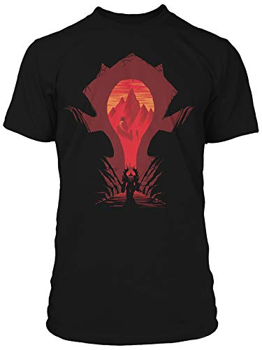 Men's World of Warcraft Horde Silhouette T-Shirt Small