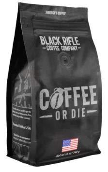 Black Rifle Coffee Company Whole Bean 12oz Bag (Coffee Or Die)