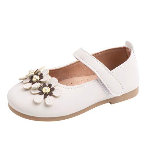Sayla Sandalias para Bebés NiñA NiñO Verano Casuales Moda Vestr Fiesta Merceditas De Cuero Sandalias Floral Playa Boda Zapatos De Princesa Planos Banda EláStica