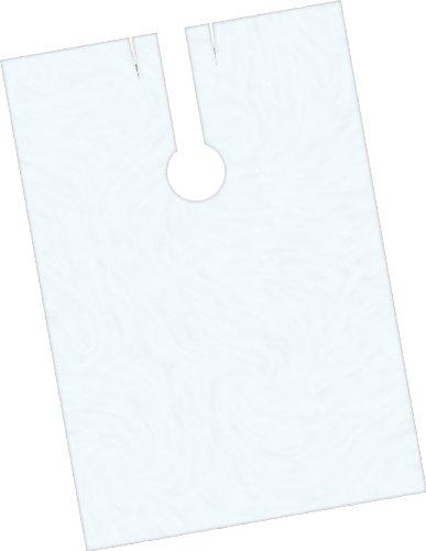 Fripac-Medis - Capas de peluquería desechables (100 unidades), transparente