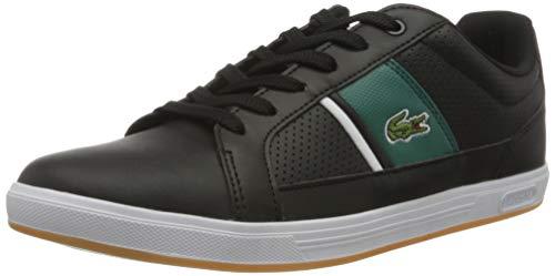 Lacoste Herren 739SMA00061B4_42,5 Sneaker, Black, 42.5 EU