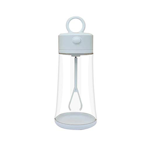ZSGG Smart Mixer Cup - Botella eléctrica para batidora de proteínas (400 ml, rotación automática)