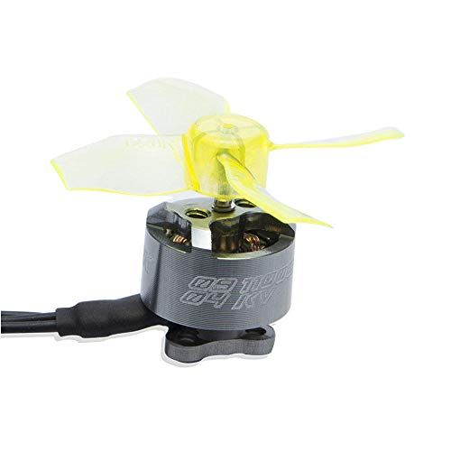 Condensadores AOKFLY BS0904 0904 11000KV 1-2S Motor sin escobillas 1 mm Eje for TINYOT Whoop RC Drone FPV Racing 65-80MM (Color : 1pc)