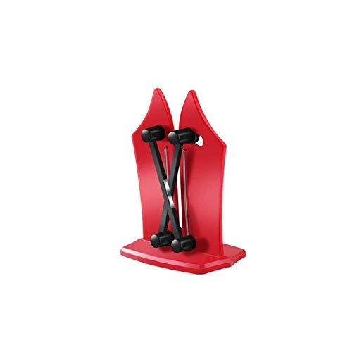 XINGYU Sharpening Equipment, Kitchen Knife Blade Special Automatic Sharpening Artifact, Kitchen Fast Sharpening Equipment, Use (Red) (Color : Red)
