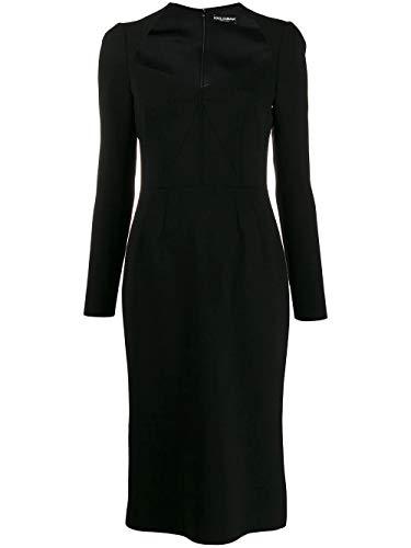 Luxury Fashion   Dolce E Gabbana Donna F6F6VTFUBD2N0000 Nero Vestito   Autunno Inverno 19