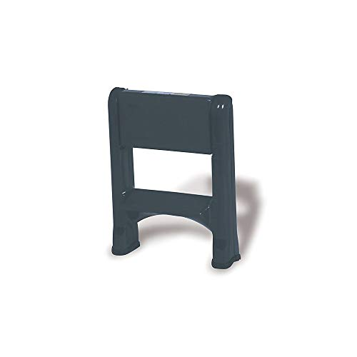 Rubbermaid Commercial Products FG420903 Two-Step-Folding Stepstool (300-Pound Load Capacity, 22-7/8-Inches x 21