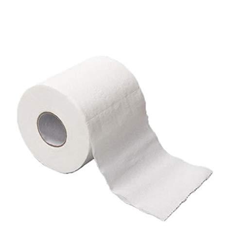 12 Rollen Toilettenpapier Clean Toilettenpapierrollen Klopapier WC 4 lagig WC Papier Angenehm weich, sicher und saugfähig