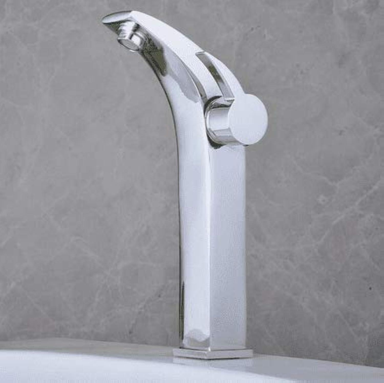 Waschtischarmatur Waschbecken Waschbecken Wasserhahn Verchromt, Messing Waschbecken Waschbecken Wasserhahn Hei Und Kalt, Einlochmontage Wc Becken Wasserhahn Mischer Wasserhahn