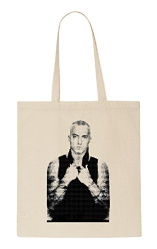 Eminem Funny natürliche organische Tasche/natural organic Bag (Beige)