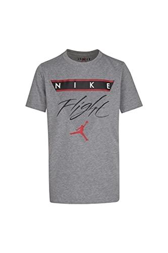 Nike Camiseta Jordan de niño gris medio melange gris 13 años
