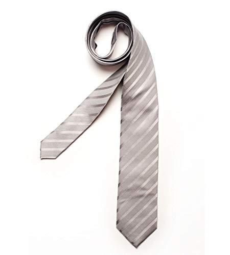 DIGEL Krawatte Galo in Grau gestreift, Größe: