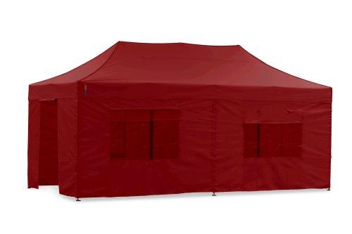 Tentastic Seitenwände Set PP18 für Pavillon 3x6 - rot