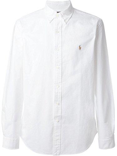 Ralph Lauren Mens Logo Button-Down Dress Shirt