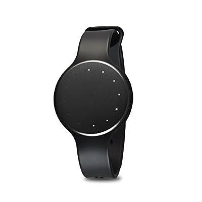 Bluetooth Smart Wrist Watch Tracker - Waterproof Multifunction LED Sports Fit Men Women Sport Running Training Fitness Gear Tracker w/ Sleep Monitor, Pedometer, Calories Burned - Pyle PSB1BK (Black)