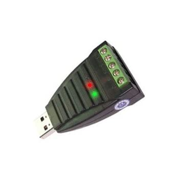 RS422 Converter Gearmo USB to RS485 Mini Industrial Grade Windows 10 Adapter