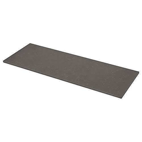 KASKER - Encimera de trabajo (1 m² x 3,0 cm, cuarzo efecto mármol)
