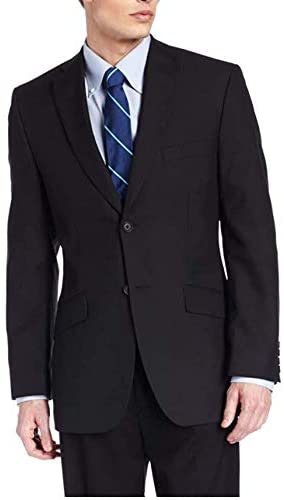 Haggar Men's Striped Tailored-Fit Two-Button Suit-Separate Jacket