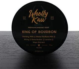 Wholly Kaw Tallow Shaving Soap, King of Bourbon