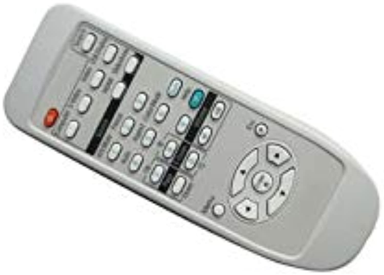 Calvas Remote Control for EPSON EMPTWD1 EBS10 EBX10 EMP1710 EX100 VS200 EMP1717 EX3200 EBX24 EBX25 EMPS3L 3LCD Projector