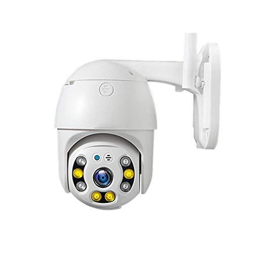 WYJW WiFi-Überwachungskamera im Freien wasserdichte WiFi-IP-Kamera 1080P HD-Überwachungskamera IR-Nachtsicht-Bewegungserkennungsunterstützung FTP 128G-Fernalarmaufzeichnung für Innen/