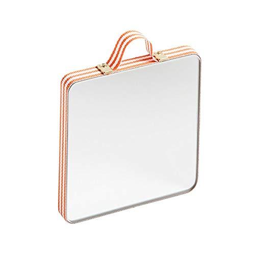 HAY Ruban Spiegel WxHxD 8.5x8.5x1cm Orange/White Striped