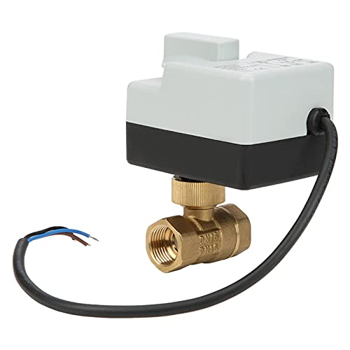 Válvula de bola DN15, Válvula de bola motorizada que ahorra energía, Estructura de precisión para aire acondicionado de refrigeración