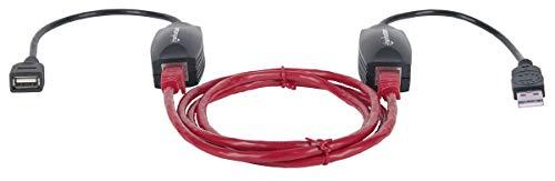 Manhattan 179300 cavo di interfaccia e adattatore USB A / RJ45 Nero