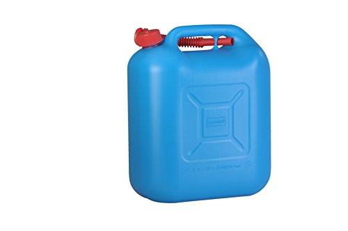 Preisvergleich Produktbild Kraftstoff-Kanister STANDARD 20l für Benzin,  Diesel und andere Gefahrgüter,  UN-Zulassung,  made in Germany,  TÜV-geprüfter Produktion,  blau