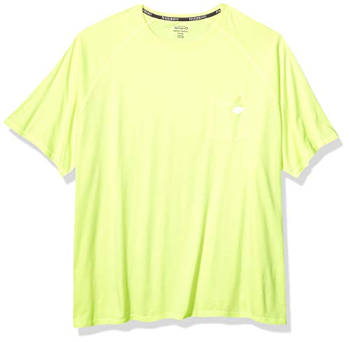 Dickies Men's Short Sleeve Performance Cooling Tee, Bright Yellow, L