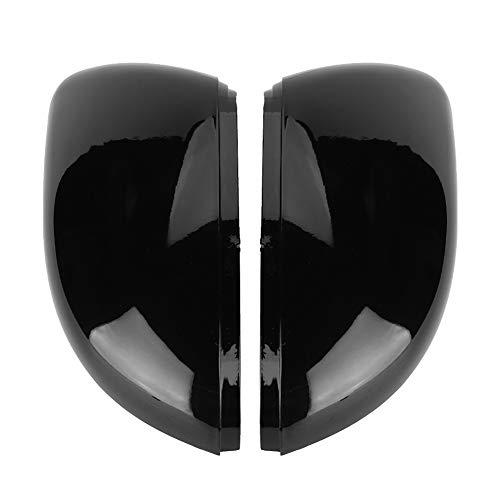 EBTOOLS Tapa de la cubierta del espejo retrovisor, 2PCS Tapa del marco del espejo retrovisor del coche Cubierta decorativa Trim 5K0857537,5K0857538 para Golf MK6 Toura