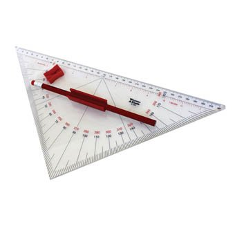 Weems Plath Professional Protractor Triangle