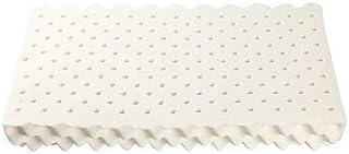 LiuliuBull Z Almohada de látex Natural Curvado diseño de látex Natural Puro Almohada ortopédica para el Dolor de Cuello durmiendo (Color : Red, Size : Without Case)