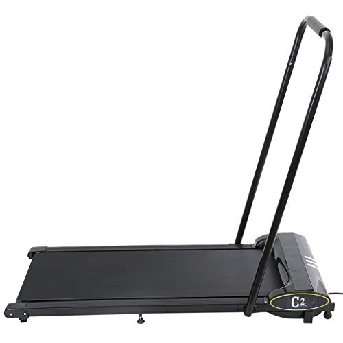 1HP Under-Desk Walking Treadmill Jogging Exercise Machine for Home Gym,Folding Smart Electric Treadmill with Remote Control and LCD Monitor